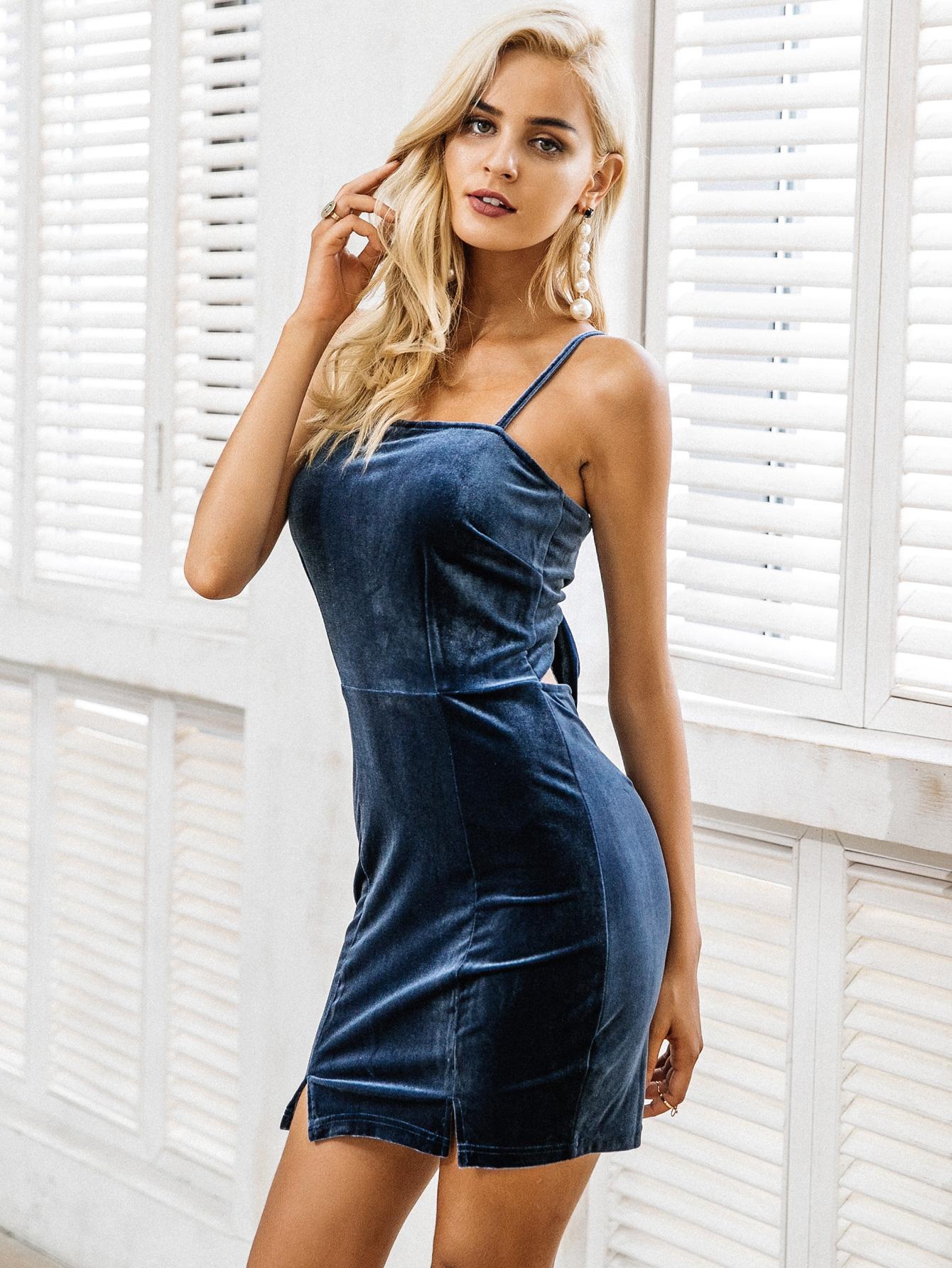 Corduroy strap dresses wholesale fashion women's clothes NHDE189444