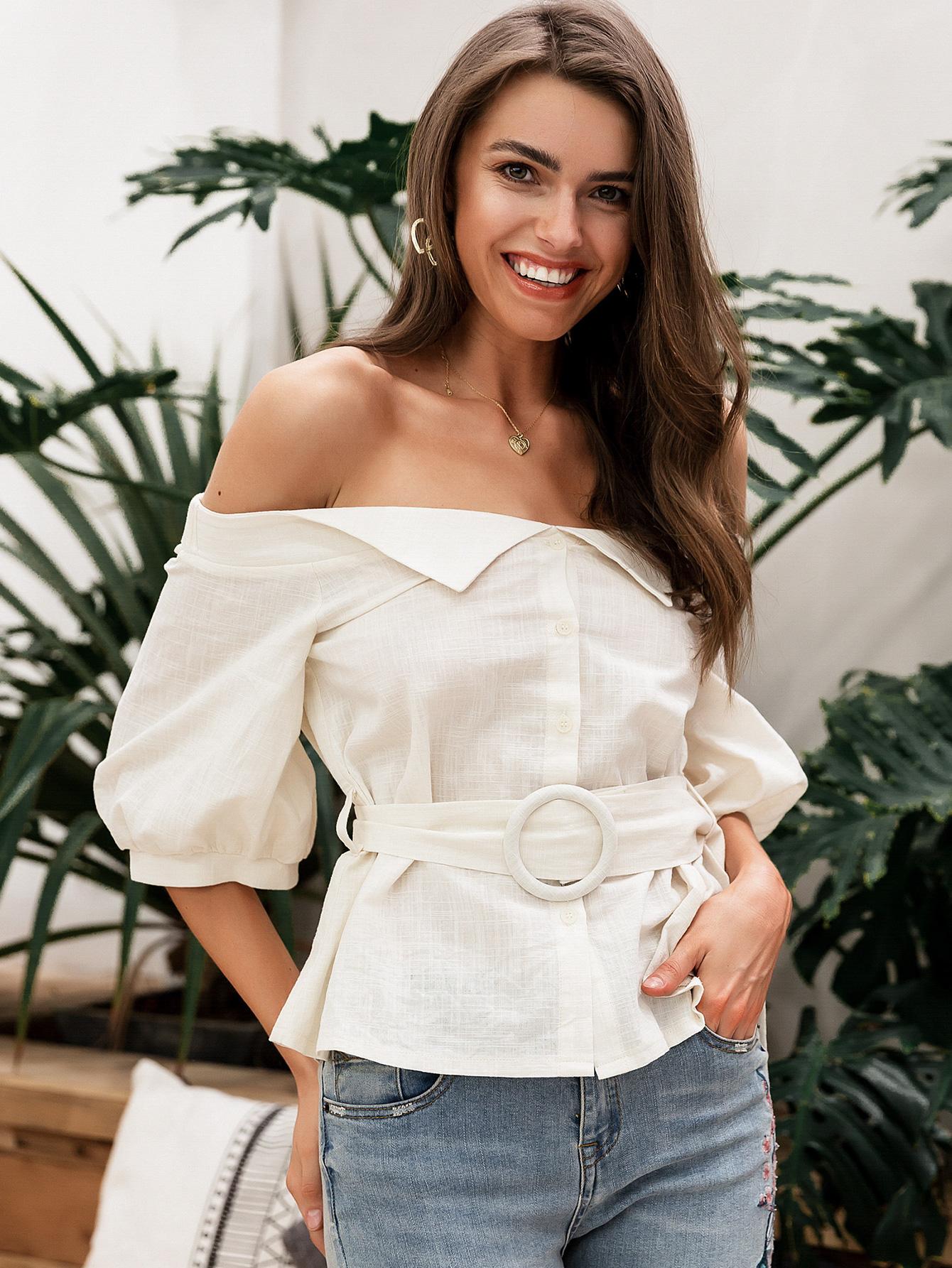 Sweet Apricot Corset Long Sleeve blouse wholesale fashion women39s clothes NHDE189516