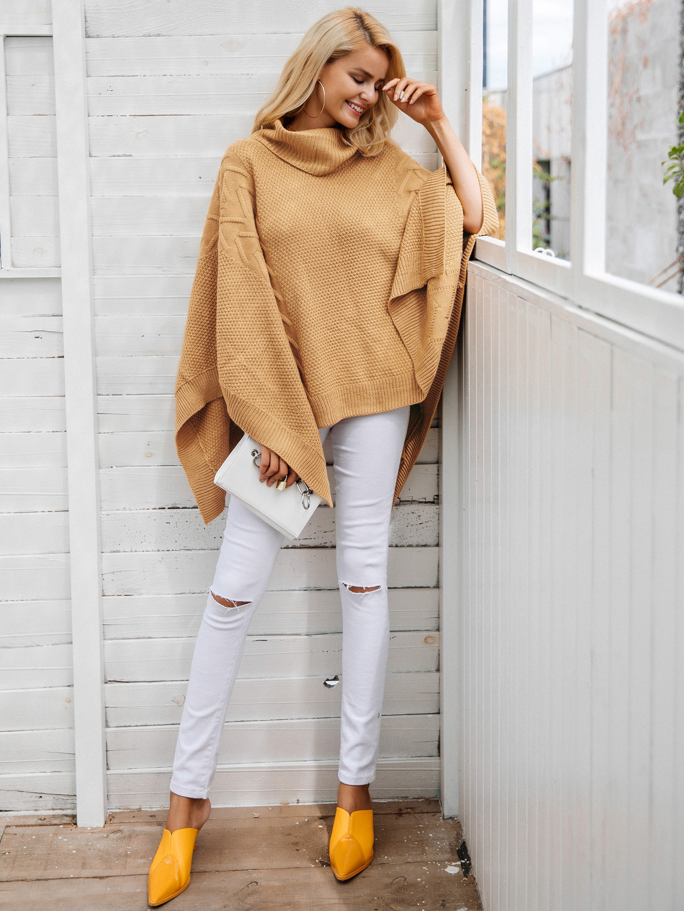 2019 new style loose solid color coat fashion women's wholesale NHDE190185