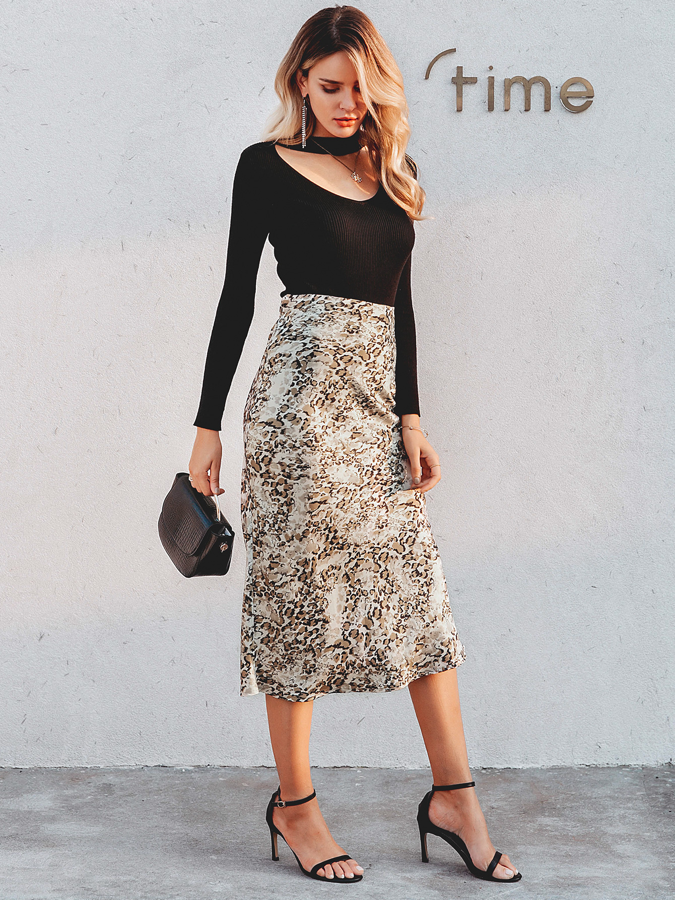 2019 new sexy leopard skirt fashion women39s wholesale NHDE190213