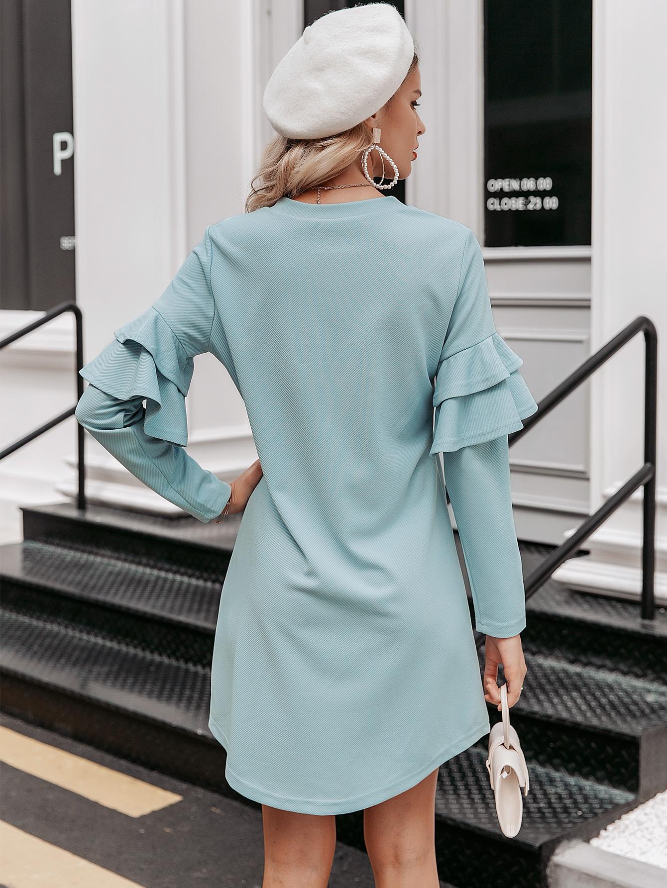 2019 New Light Blue Skirt Fashion Women Wholesale NHDE190217