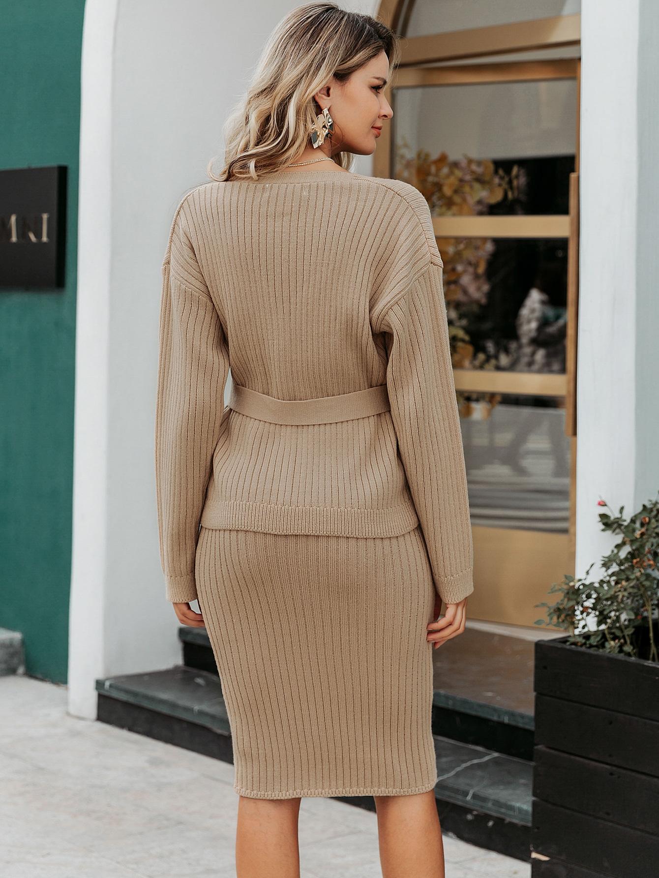 2019 new button skirt fashion women's wholesale NHDE190245