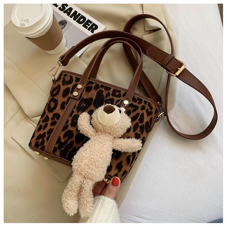 Fashion  retro large-capacity one-shoulder messenger bucket bag  NHJZ267981