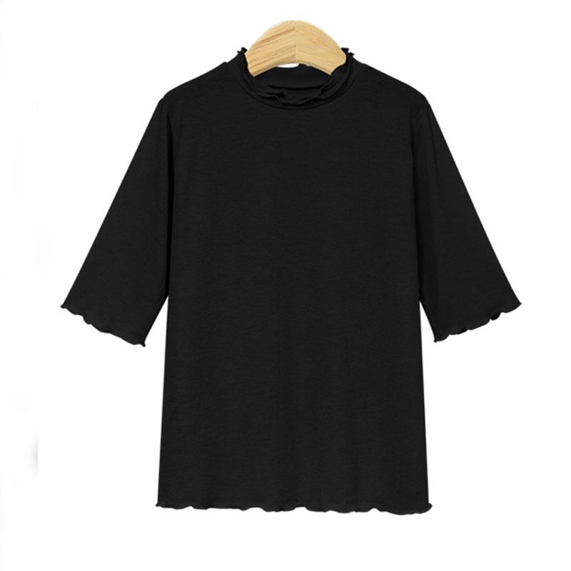 Short sleeve tshirt allmatch bottoming shirt NHJC268380