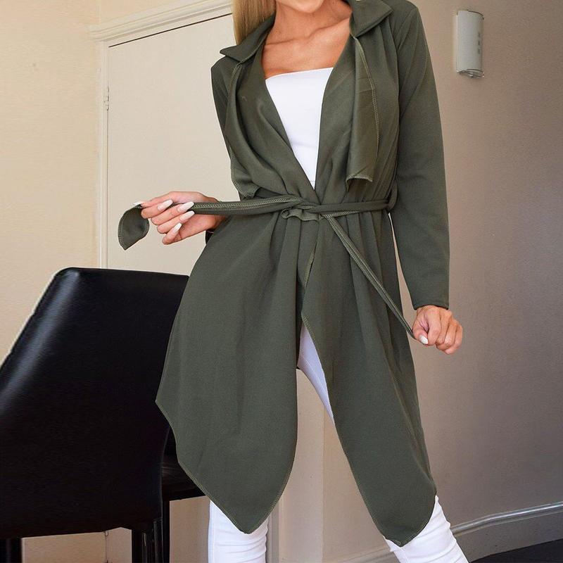 Automne femmes temprament revers neige velours couleur unie dentelle veste  manches longues femmes NHWA275187