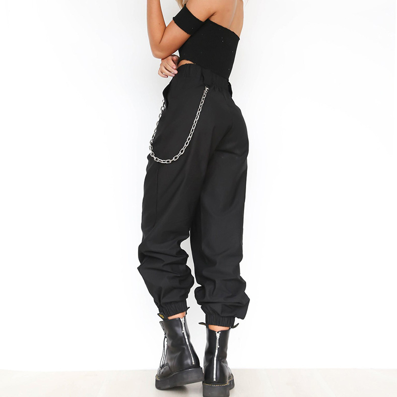 casual solid color allmatch harem pants NHUO280774