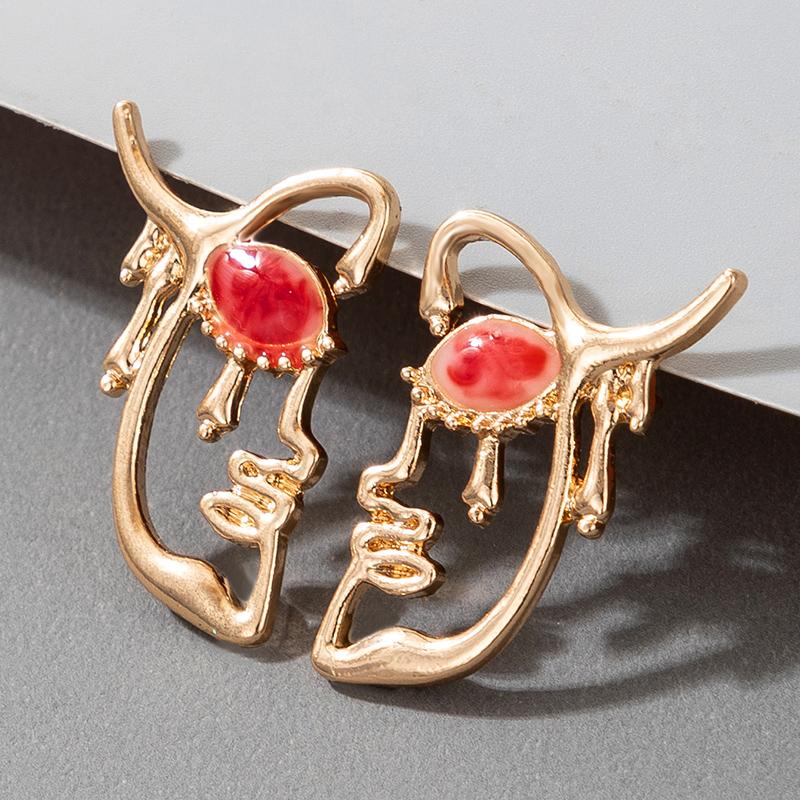 Creative Geometric Simple  Earrings  NHGY280720