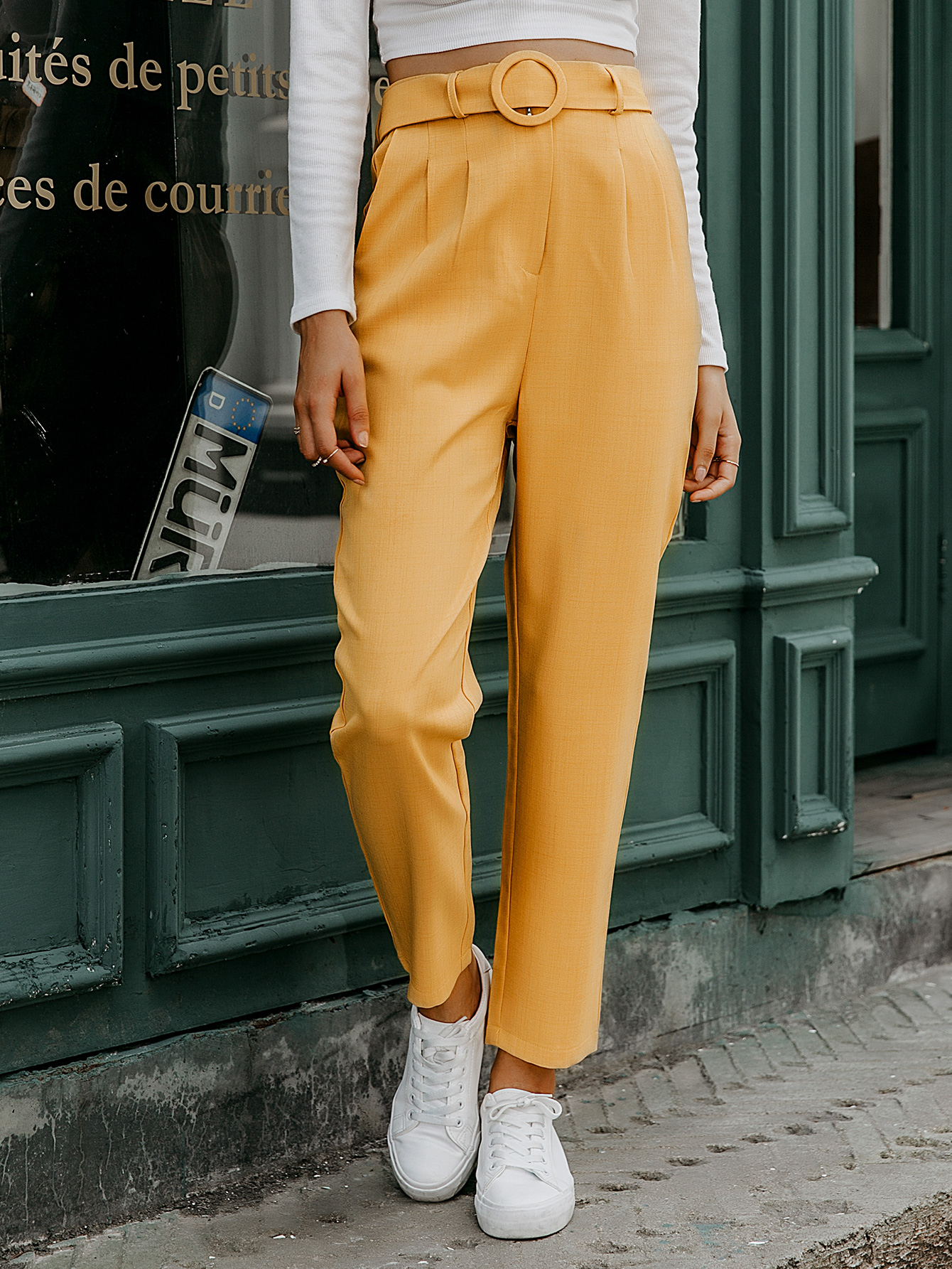 Ginger casual pants wholesale women's fashion clothes NHDE198618