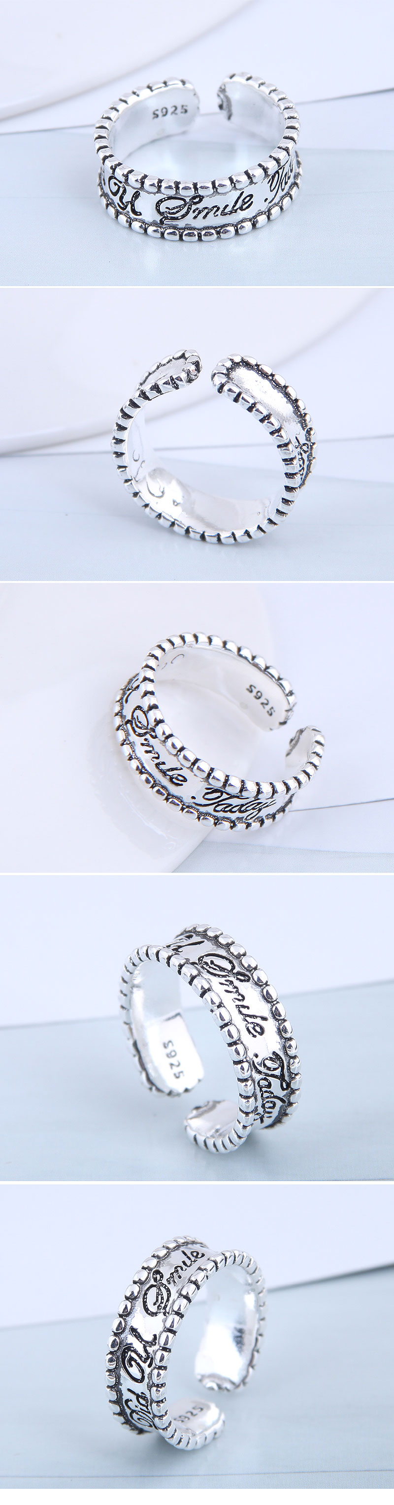 Exquisite Fashion Ring Wholesale Vintage Open Ring NHSC199705