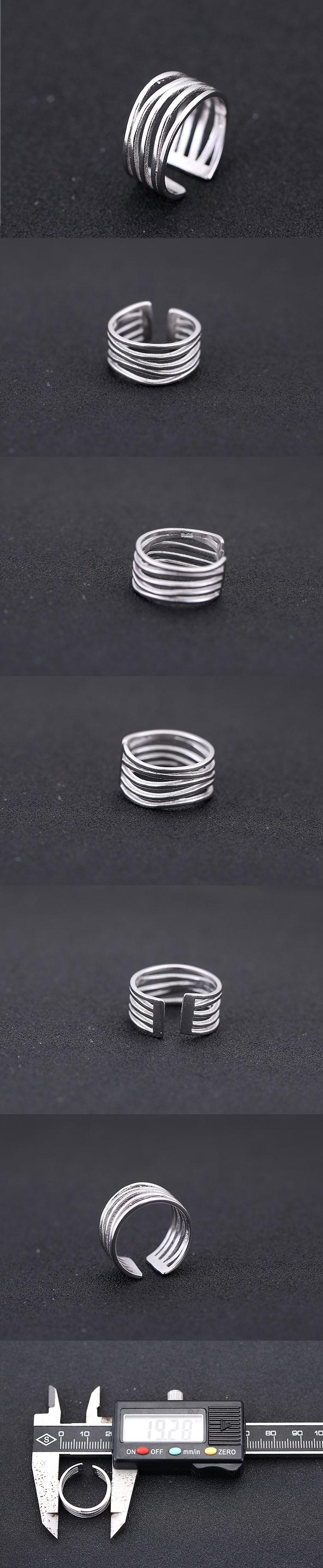 Fashion jewelry Korean fashion sweet OL simple open ring NHSC202474