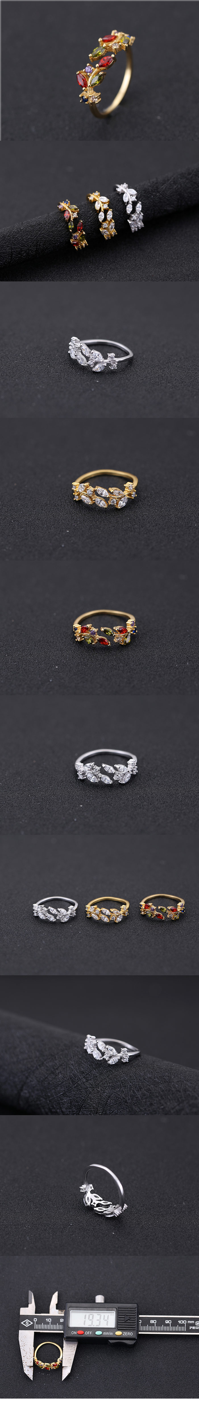 Jewellery for women Korean Fashion OL Bright Zircon Open Ring wholesales yiwu suppliers china NHSC203739