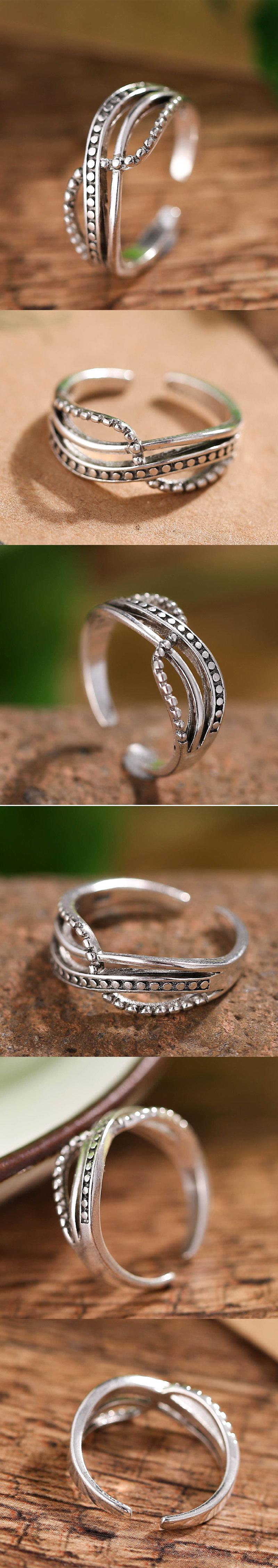 Jewellery Metal vintage split ring wholesales yiwu suppliers china NHSC203736