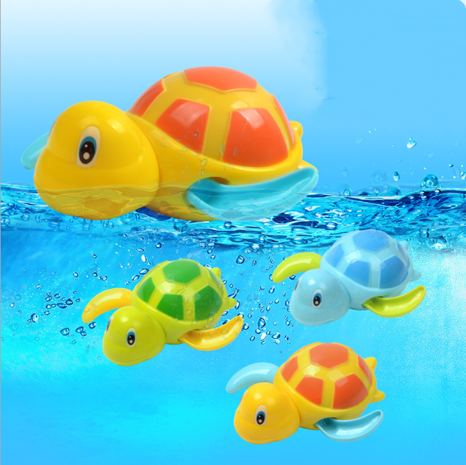 Hot Selling Cool Turtle Children Bathing Water Toy Baby Bathing Water Turtle Winding NHAT205488