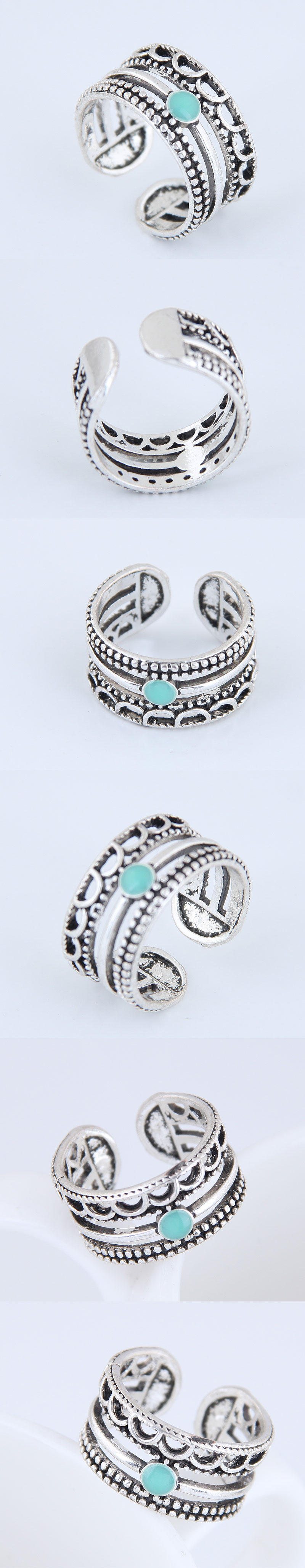 Yiwu jewelry wholesale fashion simple open ring NHSC206206