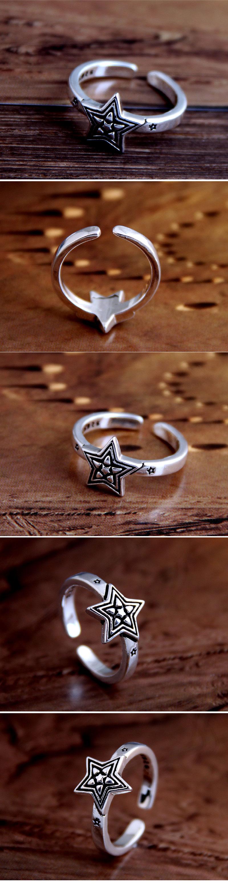 Fashion Retro Meteor Open Ring Wholesale NHSC207517