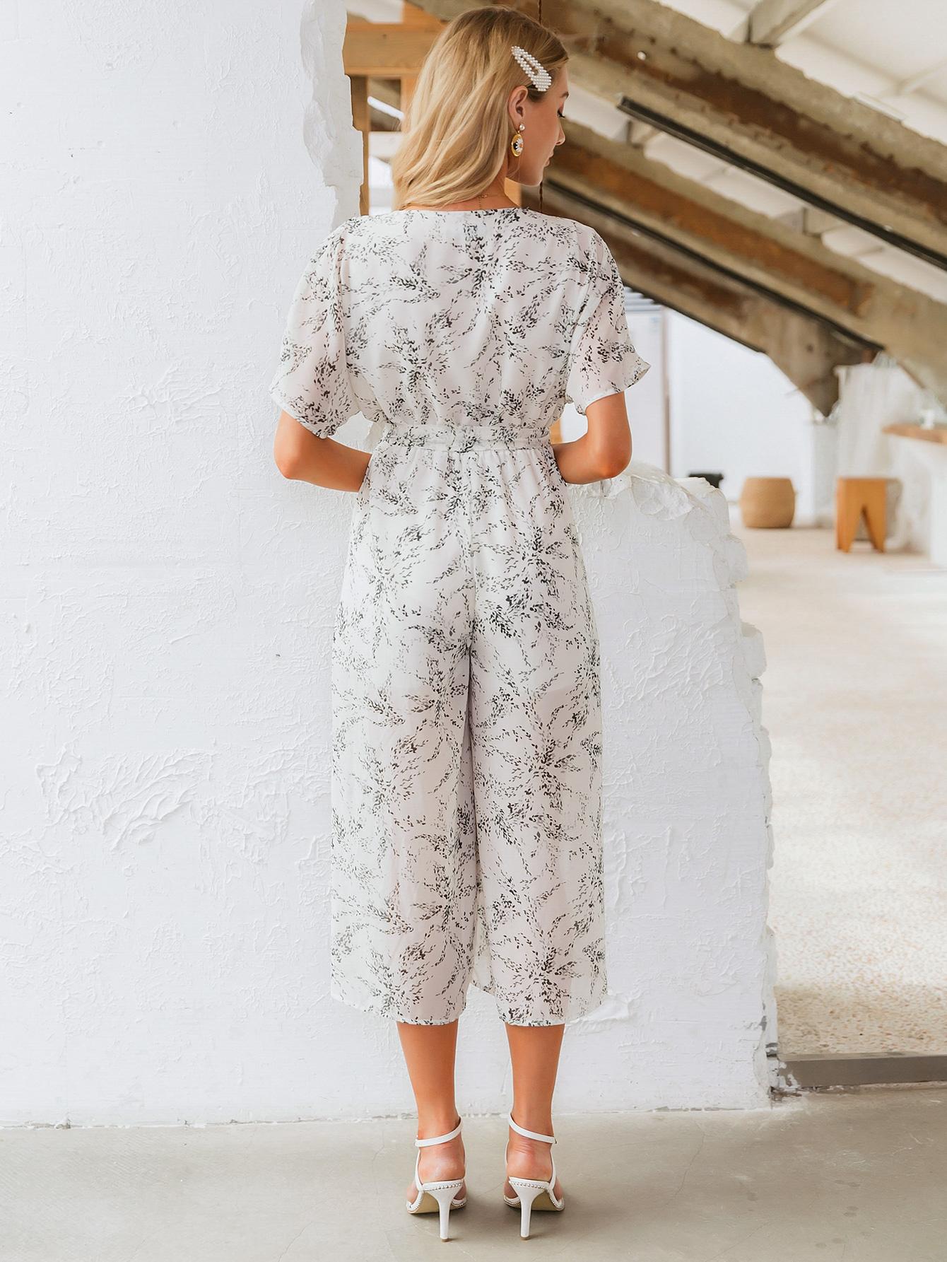 vestido de patrn de cuello en v largo y delgado nuevo y delgado de moda de verano para mujeres al por mayor NHDE230736