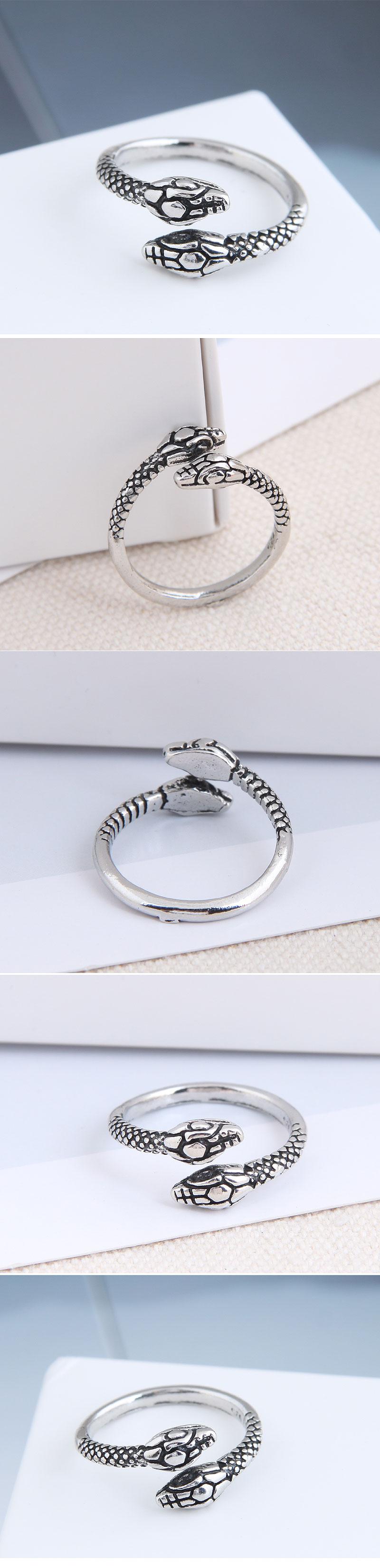 fashion metal snake open alloy ring hotsaling wholesale NHSC243290
