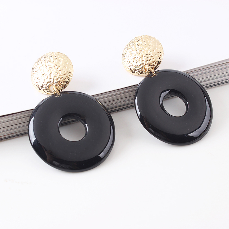 classic simple  all-match alloy earrings NHMD257830