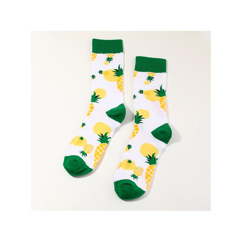 Hot selling fashion cute Pineapple socks wholesale NHNU262530