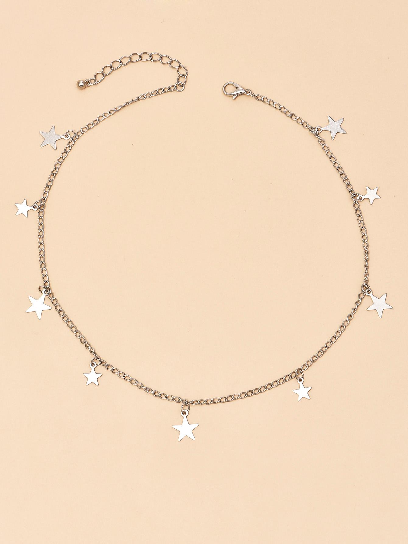 fashion new stars women's necklace wholesale nihaojewelry NHAJ253439