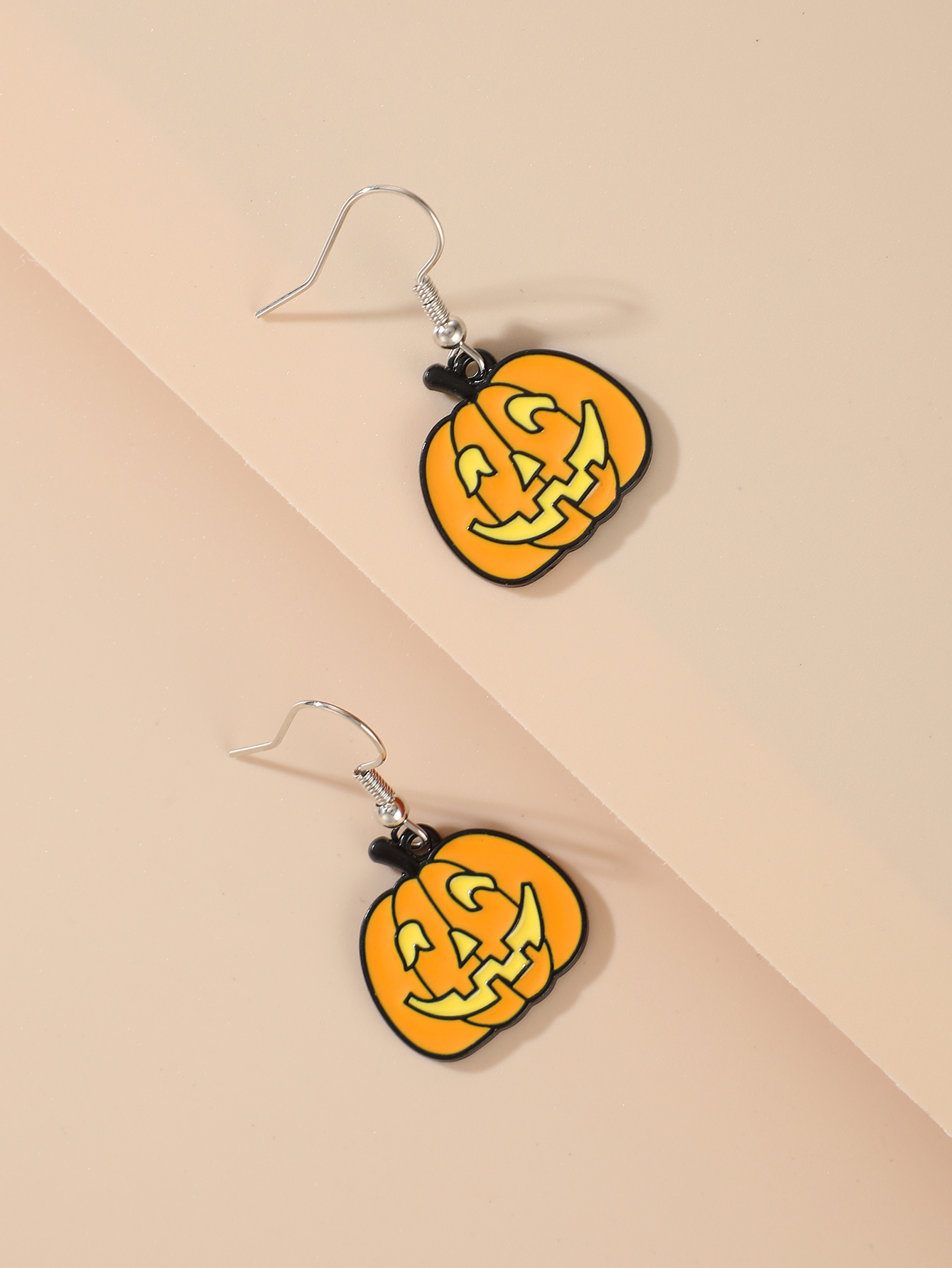 Halloween pumpkin earrings ghost demon earrings wholesale NHGY255888