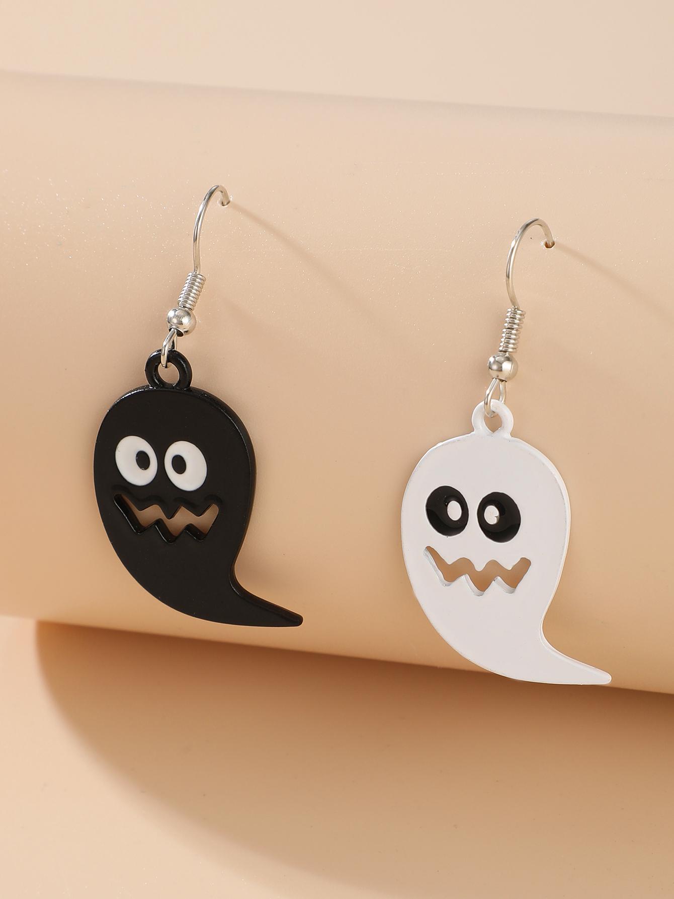 Halloween pumpkin ghost demon earrings wholesale NHGY255887