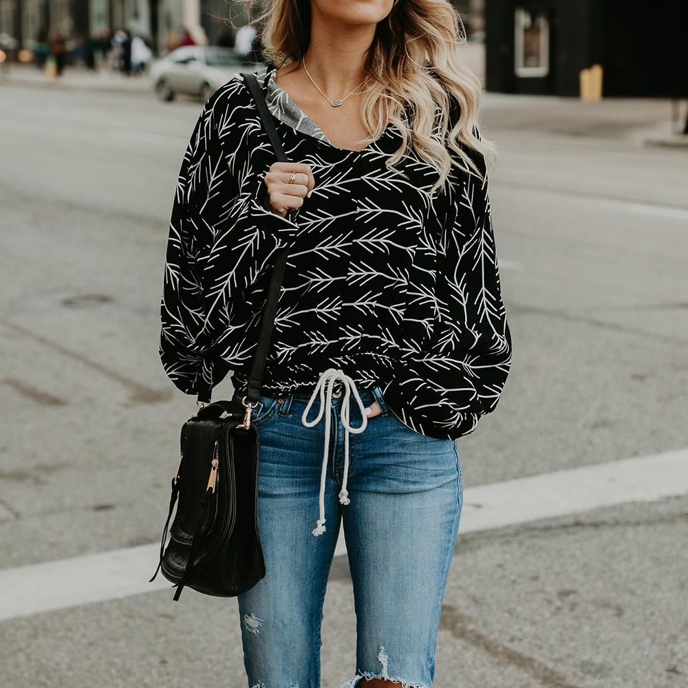 new casual printed sweater NHJG307316