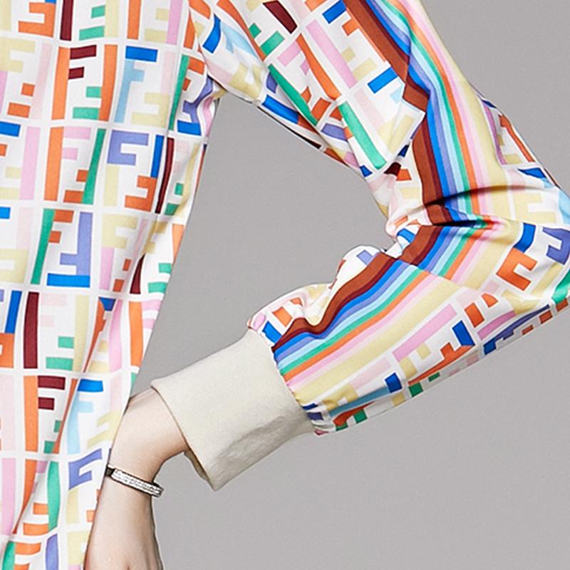 fashion cardigan printing jacket pants suit NHUO307336