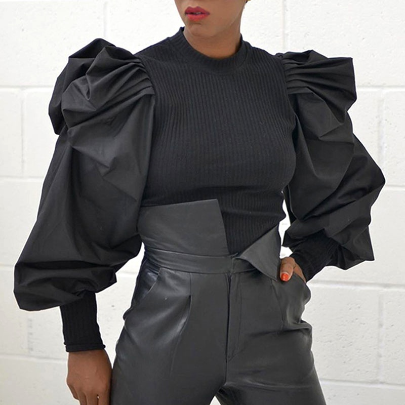 new puff sleeve sexy top NHJC316203