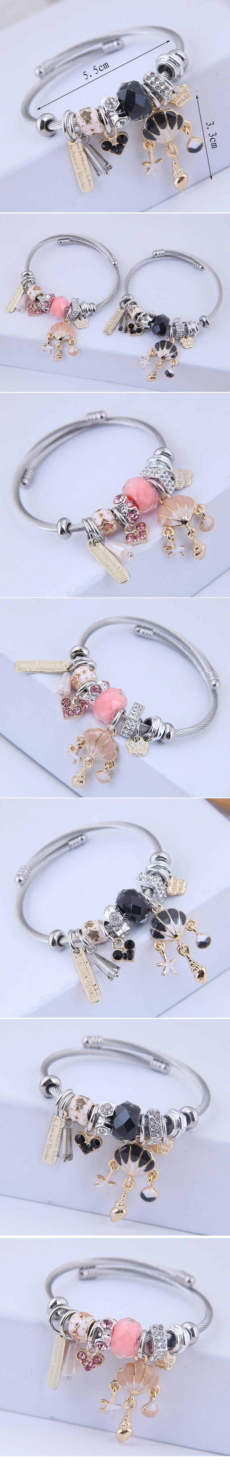 bracelet de coquille simple de mode NHSC315055