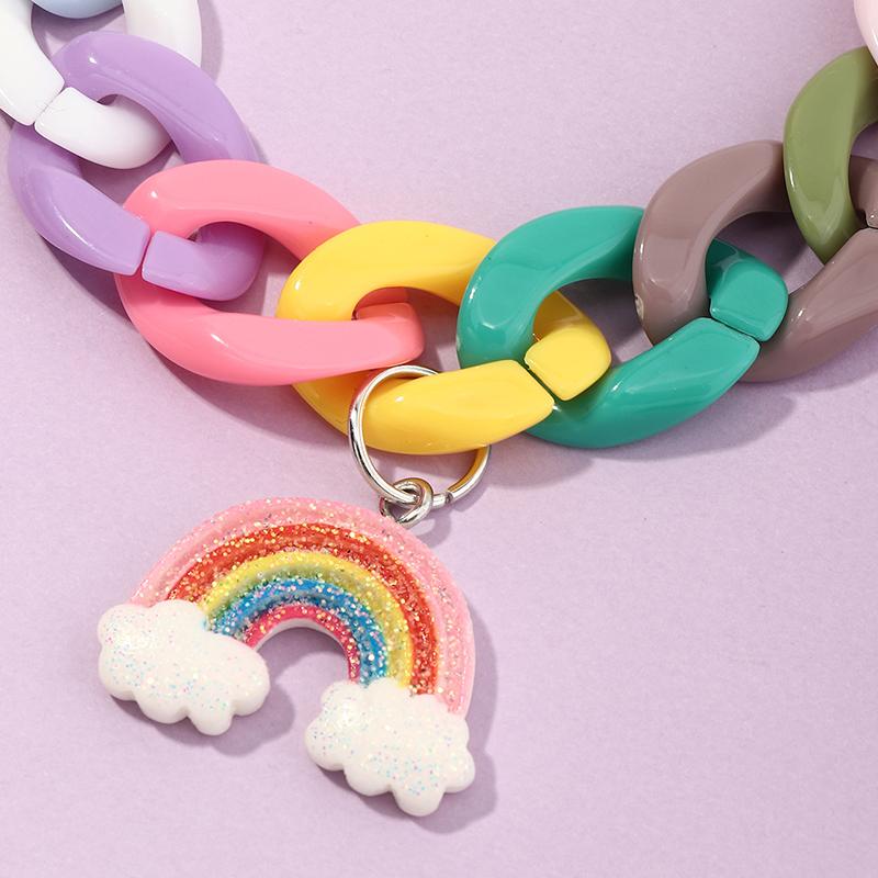 Bracelet mignon nuage arcenciel NHNU327664