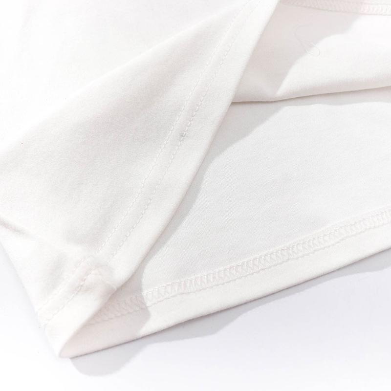 Tshirt dcontract  motif zbr en pur coton NHZN335625