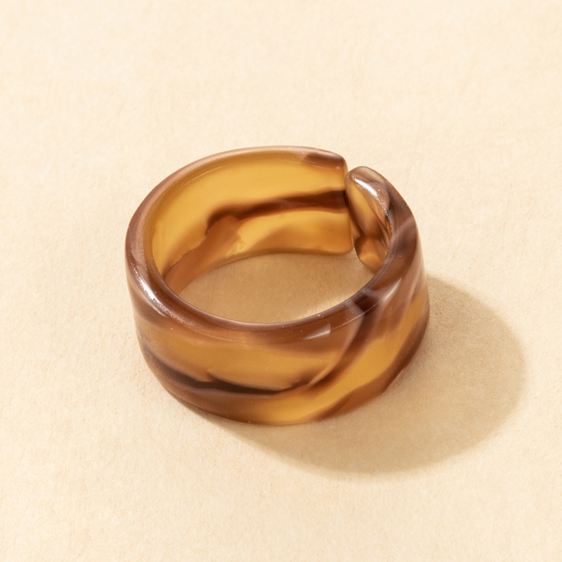 Fashion Creative Popular Color Resin Ring NHGY336148