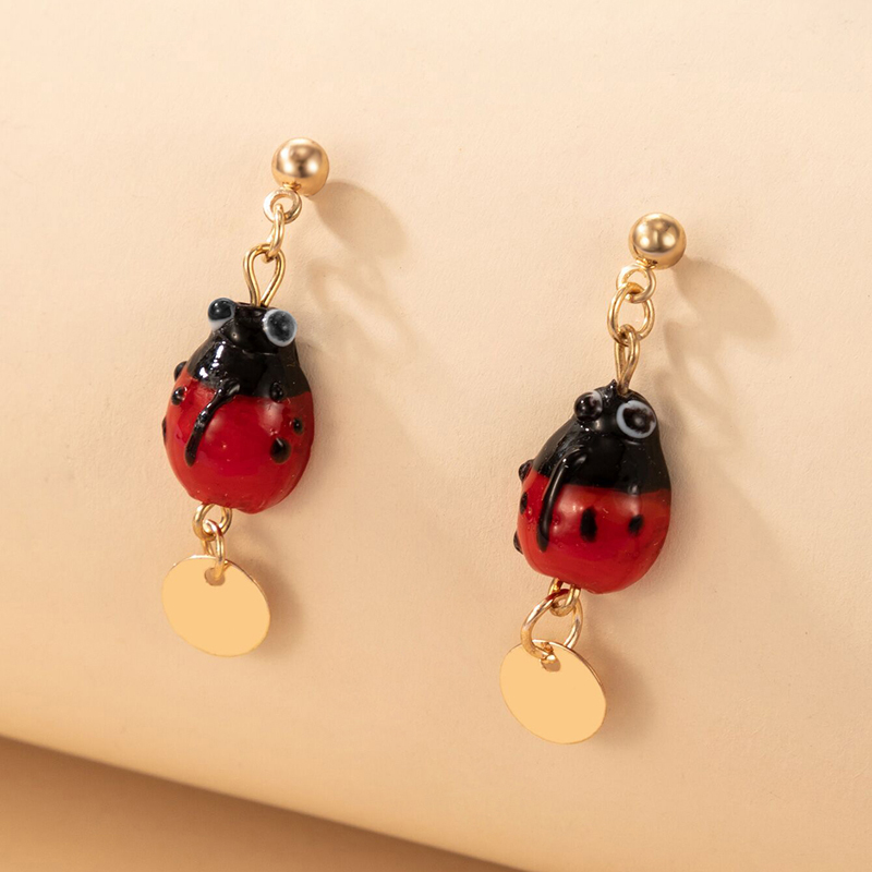 New creative animal insect earrings NHGY336736