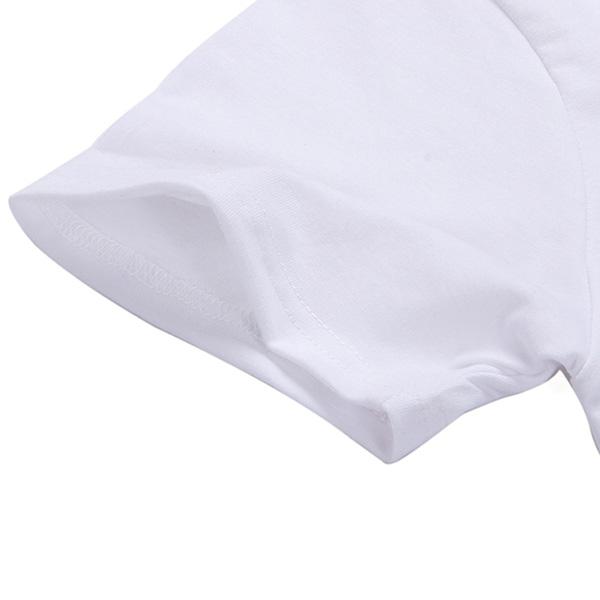 Casual Letter print shortsleeved Tshirt NHZN364678